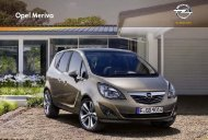 Opel Meriva Katalog