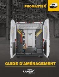Guide d'aménagement RAM ProMaster (2021)