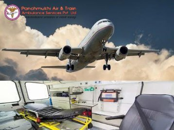 Fast Air Ambulance Services in Siliguri with Advanced Medical Support