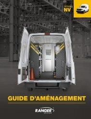 Guide d'aménagement Nissan NV (Nouveau)