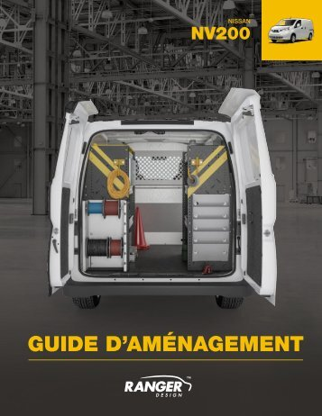 Guide d'aménagement Nissan NV200 (Nouveau)