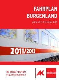FAHRPLAN BURGENLAND HEN T! - AK - Burgenland ...