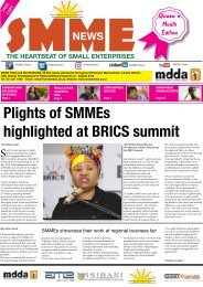 SMME NEWS - AUGUST 2018 ISSUE
