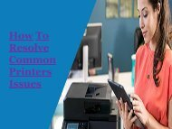 How To Resolve Common Printers Issues Sol-1