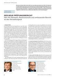 DER NEUE PRÜFUNGSBERICHT ISA 700 - Home - Ernst & Young ...