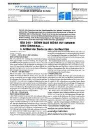 isa 240 - Home - Ernst & Young - Schweiz