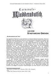 STADTARCHIV GREVEN - Stadt Greven