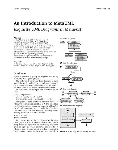 An Introduction to MetaUML Exquisite UML Diagrams in ... on component-based software engineering, information hiding, object oriented program, object-modeling technique, object oriented development, object oriented language, object model patterns, object-oriented analysis and design, service oriented diagram, object oriented class, structured systems analysis and design method, polymorphism in object-oriented programming, object oriented code, object composition, object oriented model, object oriented flow chart, object oriented description, object oriented technology, object oriented architecture, object oriented database, multiple inheritance, object oriented concept, systems design, software design, object oriented explanation, object oriented software, object oriented method, conceptual model, object oriented design, object-oriented programming, component object model diagram, object-oriented modeling, object relationship diagram,