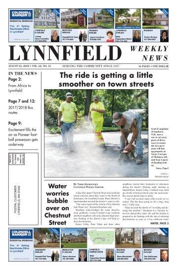 Lynnfield 8-23-18