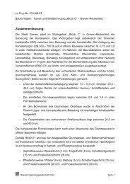 untersuchung von bohrkernen - Stadt Greven
