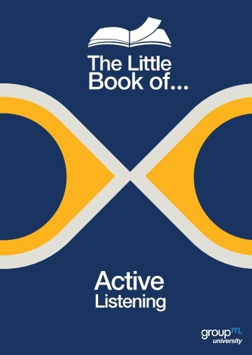 The Little Book of... Active Listening