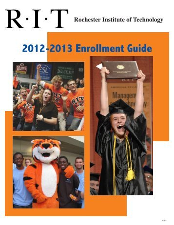 2012-2013 Enrollment Guide - Student Information System ...