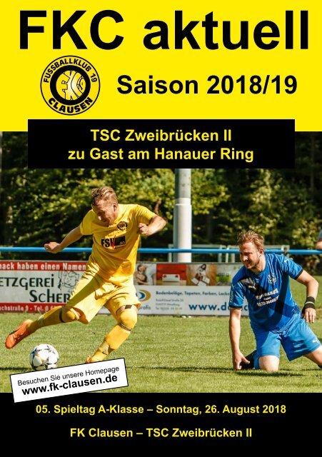 FKC Aktuell - 05. Spieltag - Saison 2018/2019