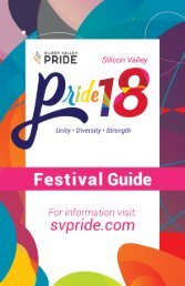 Online SV Pride Event Guide