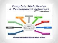 Best Website Designing Company   Brand Fabricator