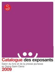 2009 Catalogue des exposants - Salon du livre et de la presse ...