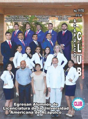 Revista Acapulco Club 1170