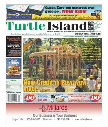 Turtle Island News - 08/22/2018