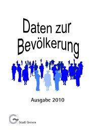 Daten zur Bevölkerung - Stadt Greven