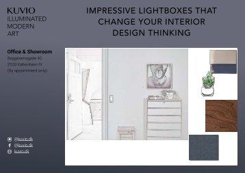 Kuvio | New interior design thinking