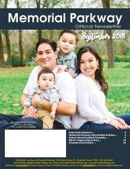 Memorial Parkway September 2018