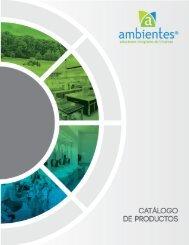 Catalogo  Ambientes 2018 GENERAL