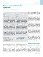 Muskel- und Nervenbiopsien - Referenzzentrum für ...