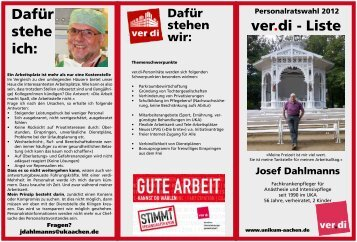 Josef Dahlmanns - unikum-aachen.de