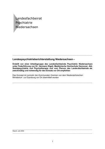 Wunsch und Wirklichkeit - Landesfachbeirat Psychiatrie ...