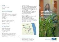 Tagesklinik der Psychiatrie und Psychotherapie 1 - LVR-Klinik Bonn