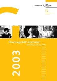 Steuerungsstelle Psychiatrie - Gesundheitsamt Bremen