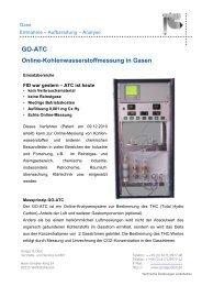 Technische Daten GO-ATC - Gröger und Obst Vertriebs