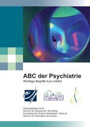 ABC der Psychiatrie - Klinikum am Weissenhof