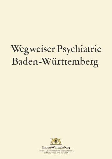 Wegweiser Psychiatrie Baden-Württemberg - Klinikum am Weissenhof