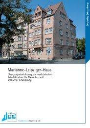 Marianne-Leipziger-Haus Unsere Leitsätze - Stadtmission Nürnberg