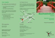 Konzept der Präventionsambulanz - Bezirksklinikum Ansbach