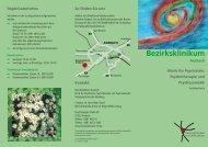 Sozialpsychiatrie - Bezirksklinikum Ansbach
