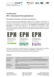 Kurzinfo EPH - universalRAUM