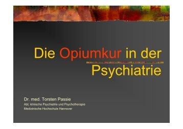 Die Opiumkur in der Psychiatrie PDF - Bewusstseinszustaende