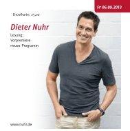 Dieter Nuhr - Stadt Kaarst