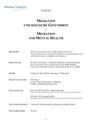 migration und seelische gesundheit migration and mental health