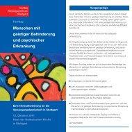 Menschen mit geistiger Behinderung und psychischer Erkrankung