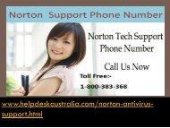 Complete Solution 1-800-383-368 Norton Antivirus Tech Support Helpline Australia