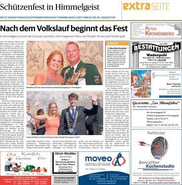 Schützenfest in Himmelgeist  -23.08.2018-