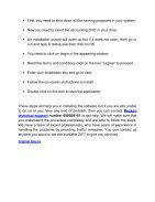 Steps to Install Reckon Account - Page 2