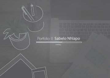 Sabelo Nhlapo Graphics Design Portfolio