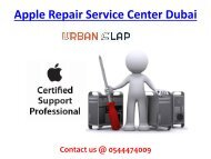 Apple Repair Service Center Dubai