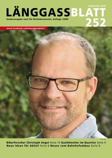 Länggassblatt 252 - September 2018