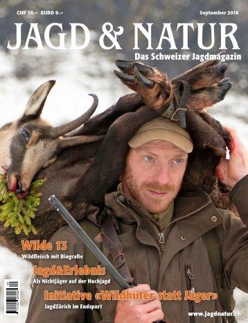 Jagd & Natur Ausgabe September 2018 | Vorschau