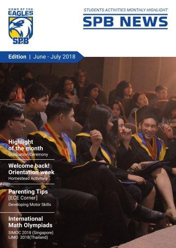 SPB News June - July 2018